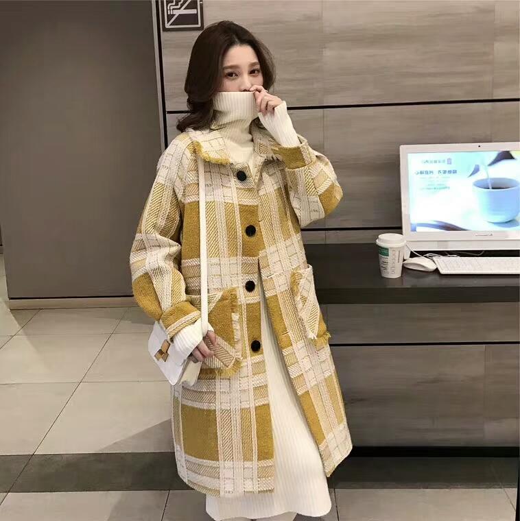 高端欧货薄料大衣来袭,小妹实拍品质非常好保暖性强!一手货源工厂直供。
