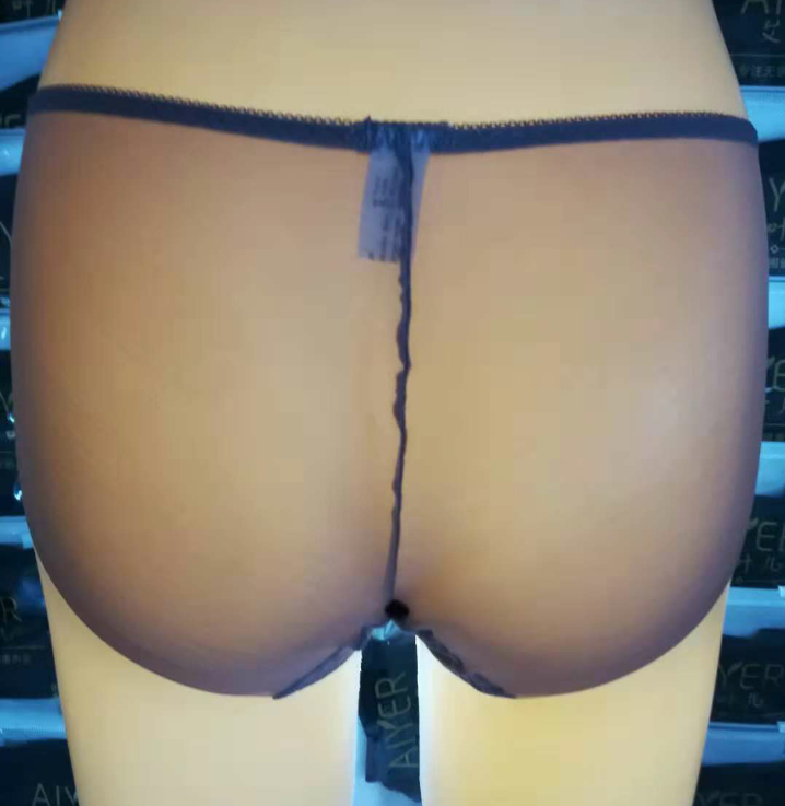 高档玻璃纱女士内裤