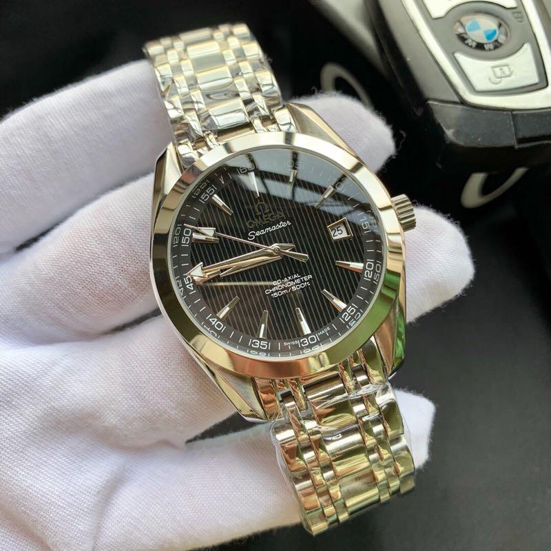 精品商务休闲海马系列自动机械男士手表 休闲领域高档腕表