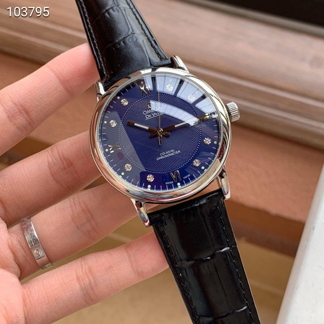 精品商务休闲男士优质款式机械手表 搭配西铁城8215机芯蓝宝石镜面男腕表