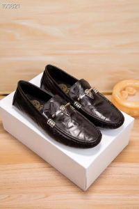 新款潮流男士牛皮休闲鞋 原版橡胶大底羊皮内里套脚鞋时尚百搭款男鞋运动鞋
