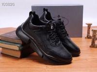 新款潮流男士牛皮休闲鞋 原版橡胶大底羊皮内里套脚鞋时尚百搭款男鞋