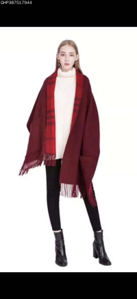 新款潮流男女通用款羊绒围巾丝巾 时尚新颖百搭款式潮人必备佳品
