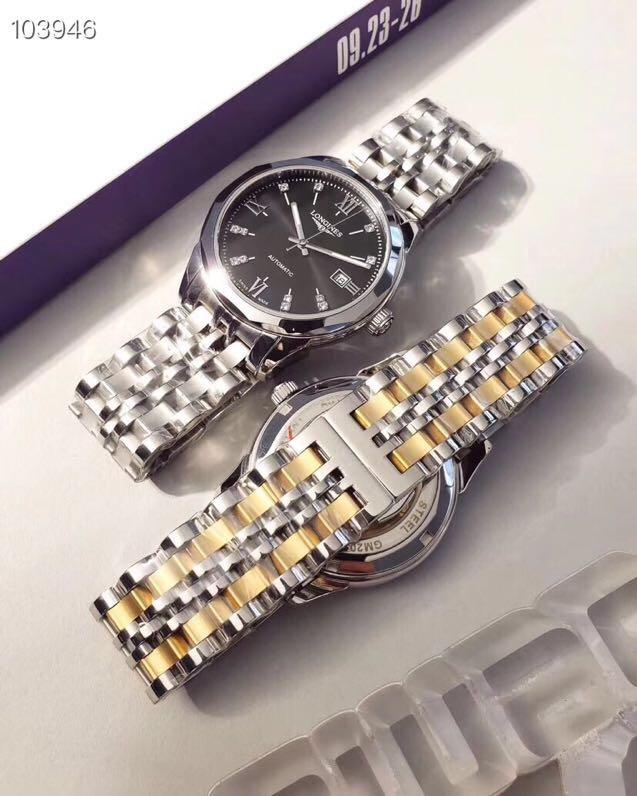 高品质商务休闲男士手表 搭配西铁城8215机械机芯腕表