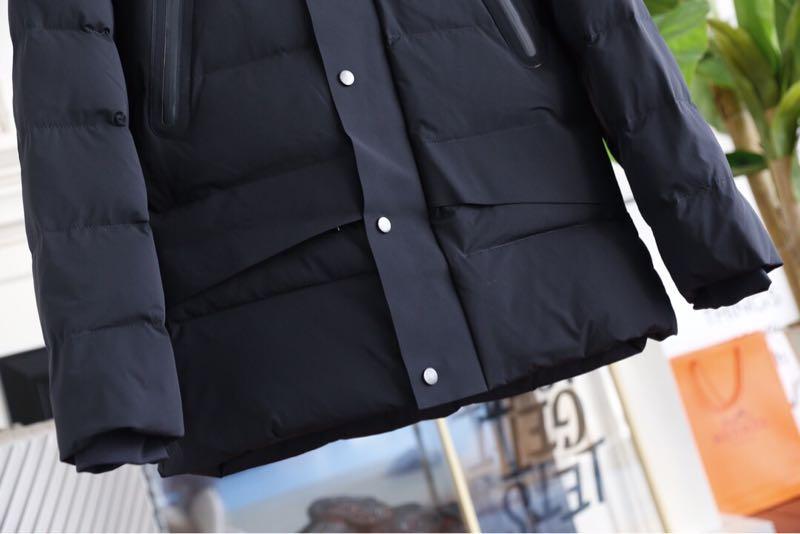 官网在售canada加拿大鹅外贸原单中长款加厚欧美大牌冬季90白色羽绒衣服外套羽绒服