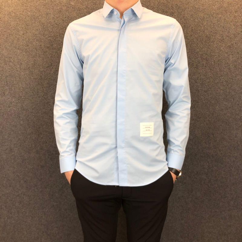 2019春季新款男士大牌原单衬衫外贸