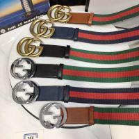 原单〖GUCCI〗布纹针织腰带,gucc双G扣,专柜同款,市场最高品质,手