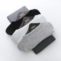 夏季男人袜子男士男袜棉短袜浅口硅胶防滑隐形船袜全棉袜子批发