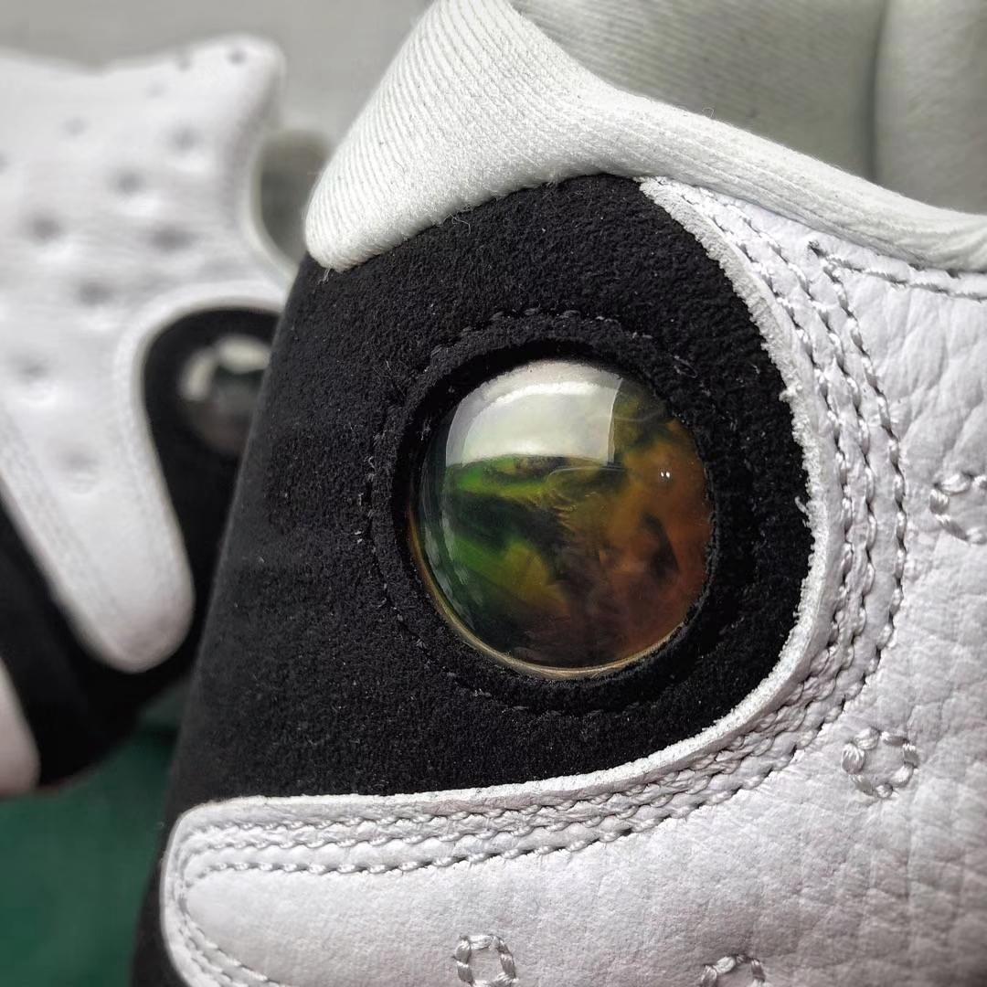 乔13黑白熊猫 全息3D真猫眼