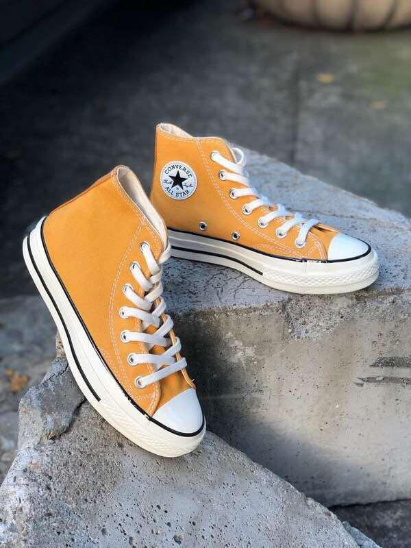 原装顶级专柜品质 1970s高帮帆布鞋三星标休闲板鞋匡wei爆款男女百搭小白鞋