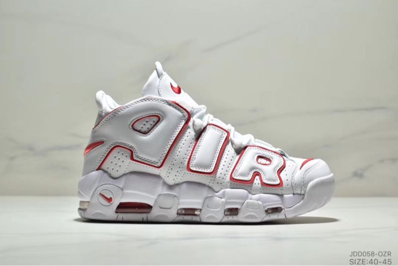 NK皮蓬真标高品质 Air More Uptempo supreme 大AIR运动休闲鞋男女跑步鞋