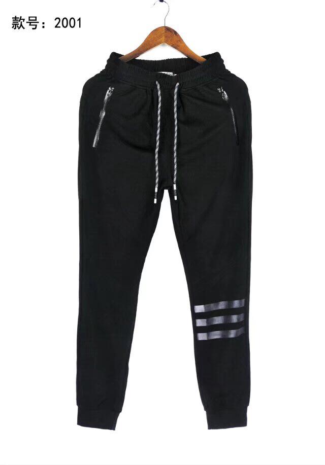 纯棉冰丝光滑料长裤